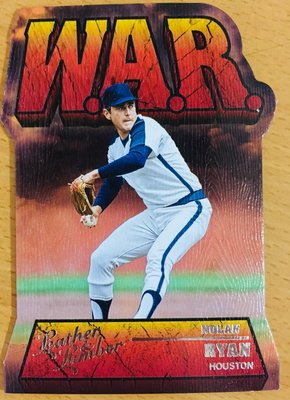 NOLAN RYAN 2019 LEATHER & LUMBER WAR-10 WAR 切割特卡