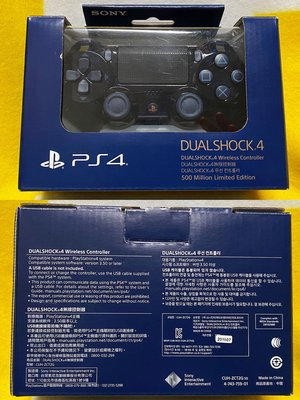 Sony PlayStation 4 500 Million Dualshock 4 無線控制器 (CUH-ZCT2G 50) 限定生產販售