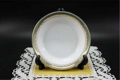 【旭鑫骨瓷】ROYAL WORCESTER Gold Chantilly 英國 骨瓷 瓷器 大餐盤(B.13)
