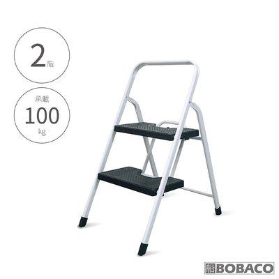 【二階寬踏板家用鐵梯】2階梯 鐵梯 安全摺疊梯 折疊防滑梯 梯子 樓梯椅 室內梯 台中市