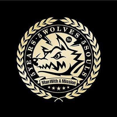 特價 MAN WITH A MISSION 5 Years 5 Wolves 5 Souls (日版通常盤CD) 最新
