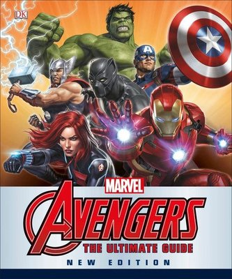 Marvel The Avengers The Ultimate Guide New Edition HARD COVER 復仇者聯盟 訂
