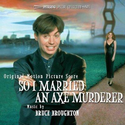 """蜜月危險期-配樂版 So I Married an Axe Murderer""""- B. Broughton,全新美版40"""