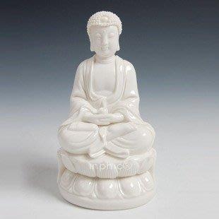 INPHIC-佛像 如來佛 陶瓷佛像 家居擺飾 多陀阿伽度 6吋如來佛