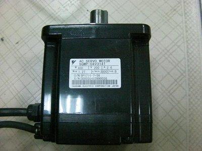 (泓昇) 安川 Yaskawa 伺服馬達 Σ-II SGMP-04V314T (PLC,伺服馬達,變頻器)