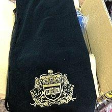 ◇ 羽球世家◇【拍袋】RSL 單支球拍保護套黑色/白色 絨布袋《特價220元》電繡精緻圖案