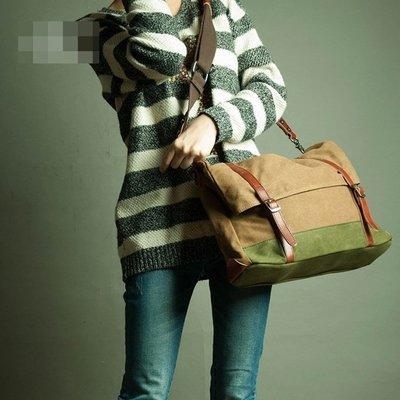 NYCT 韓國高品質限定原創 歐美熱賣頂級百搭時尚日系女包新款撞色帆布包韓版單肩包斜挎包休閒簡約女式原創包