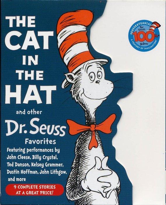 *小貝比的家*THE CAT IN THE HAT AND OTHER DR. SEUSS FAVORITES / CD*Dr. Seuss (蘇斯博士)