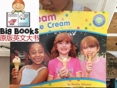 45cm大地板書 Scream for Ice Cream 讓孩子尖叫的冰淇淋你了解嗎