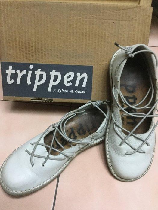 *花露露*德國TRIPPEN超美芭蕾舞鞋(水藍色)~好穿~已漲到8千多!4999元限時起標