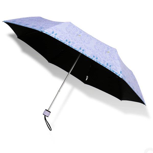 【洋傘職人】冰雪奇緣97cm_黑膠抗UV晴雨傘 / 雨傘防風傘防曬傘抗UV傘陽傘洋傘折傘兩用傘 (免運)