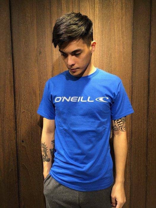 美國百分百【全新真品】 Oneill 衝浪 上衣 男衣 背面 logo 短袖 T恤 T-shirt S號 AN74
