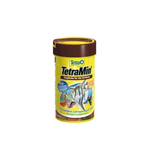 魚樂世界水族專賣店# 型號:T104 德國 Tetra Min 熱帶魚薄片飼料 250ml 孔雀魚 燈魚