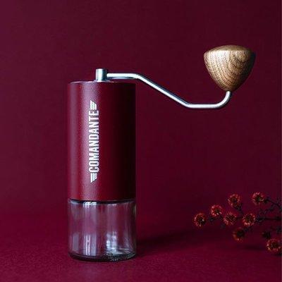 咖啡機德國司令官Comandante C40 MK3高氮鋼刀頭手搖咖啡磨豆機 手磨