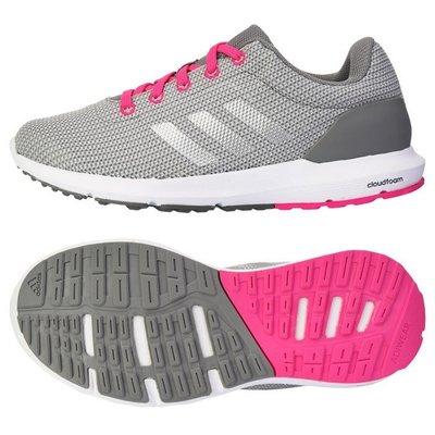 運動go~adidas 愛迪達 COSMIC W 三葉 透氣 輕量 編織 健身 百搭 女款 慢跑鞋 AQ2174