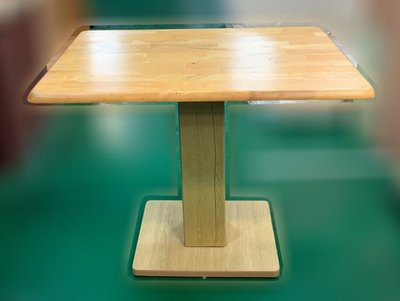 樂居二手家具(中)台中西屯二手傢俱買賣推薦E120706*長方實木餐桌*2手桌椅拍賣 會議桌椅 戶外休閒桌椅 課桌椅