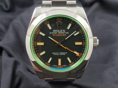 二手 Rolex Milgauss BLK