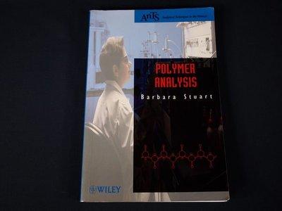 【考試院二手書】《 Polymer Analysis (AnTs) )》ISBN:047181363X│WileyBlackwell│Bar│八成新(21E36)