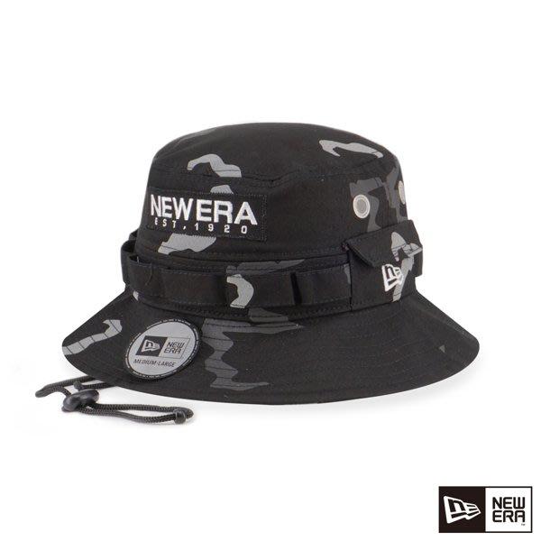 南◇2019 12月 NEW ERA 探險帽 反光 迷彩 NE 黑色 NE12286386 漁夫帽 遮陽帽 男女