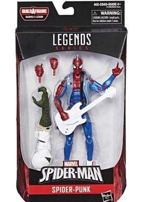 收marvel legends spider punk spiderman