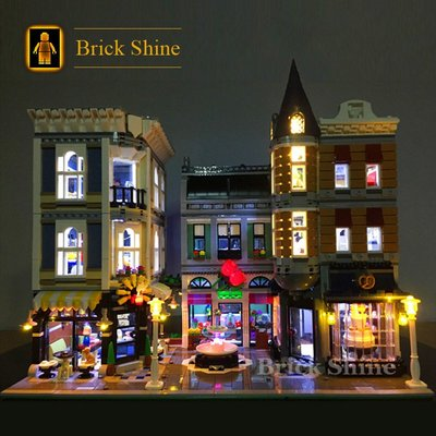 現貨 燈組 樂高 LEGO 10255 Assembly Square CREATOR 系列  全新未拆  BS燈組