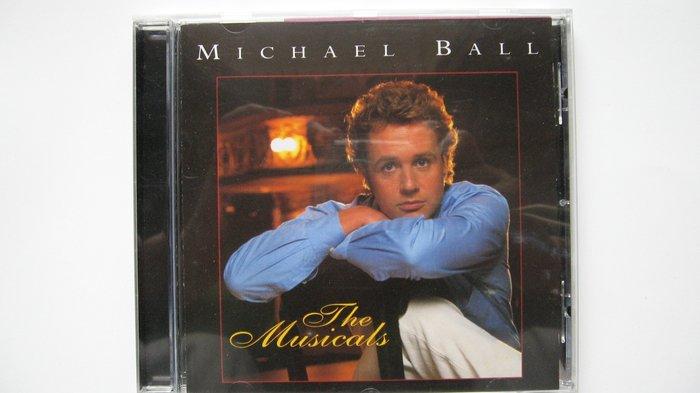 Michael Ball: The Musicals 悲慘世界Marius演唱專輯 自藏音樂劇CD 1996年出品