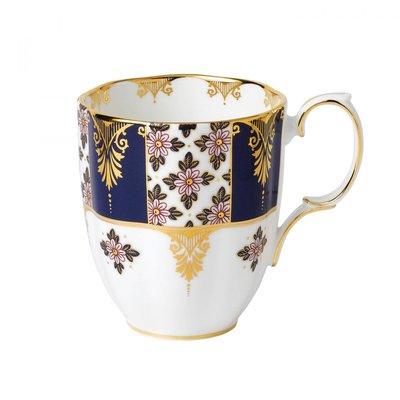 全新正品。英國皇家品牌 ROYAL ALBERT。新百年紀念系列。1900年 Regency Blue 馬克杯。預購
