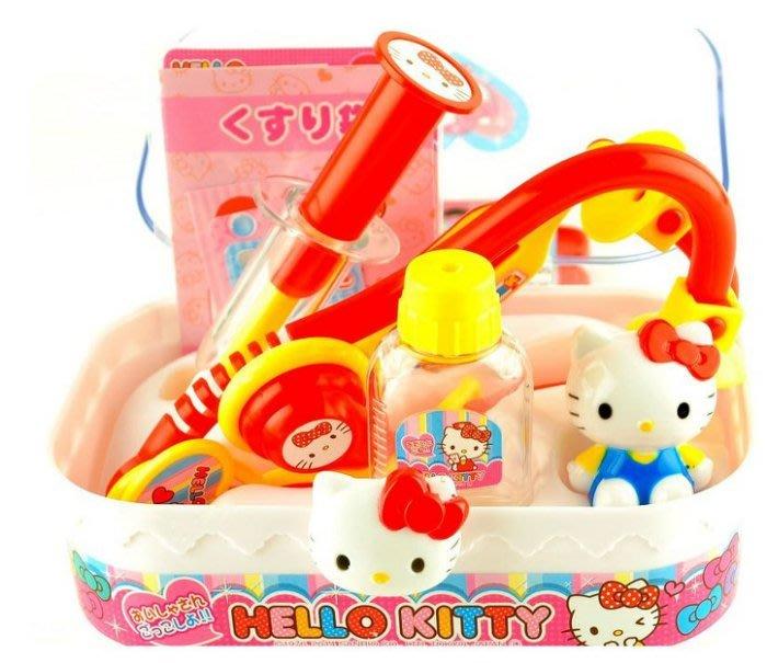 佳佳玩具 --- 正版授權 Hello Kitty 凱蒂貓 手提盒 醫護手提箱 醫生組合 ST安全玩具【0511347】