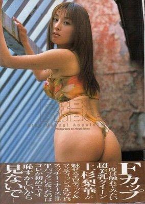 上杉梨華R指定 RIKE UESUGI APPOINTMENT -1260元(最新寫真集)