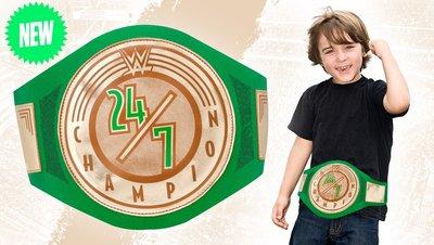 [美國瘋潮]正版WWE 24/7 Championship Toy Title 全時硬核冠軍玩具版腰帶限量預購中 RAW