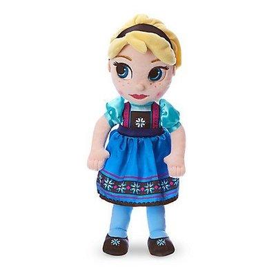 【100%美國迪士尼正品】Disney Princess 冰雪奇緣 Anna Elsa 安娜/愛紗超可愛玩偶布娃娃13吋