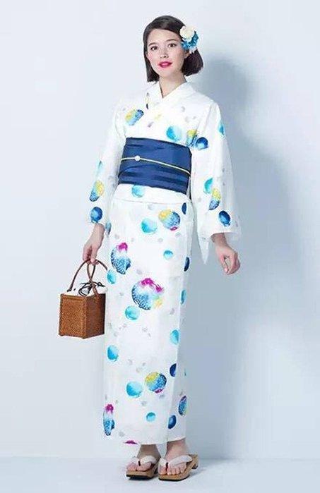 01日本全棉和服浴衣 個性浴衣 拍照寫真