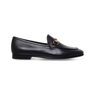 ✨全新✨Gucci Jordaan Loafer 古馳經典馬銜扣樂福鞋 女 EU41