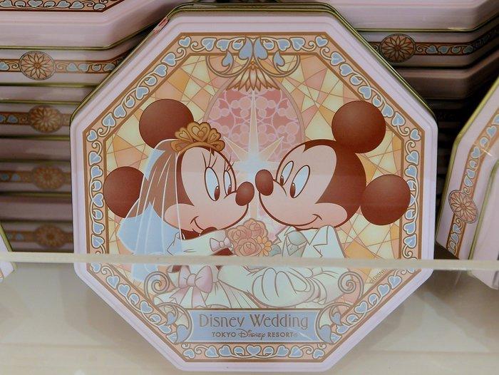 Ariel's Wish-日本東京迪士尼婚禮限定婚禮小物探房禮物伴娘禮喜餅米奇米妮婚紗西裝收納鐵盒收納盒飾品盒子-售空盒
