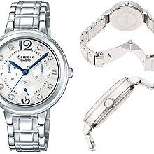 日本正版 CASIO 卡西歐 SHEEN SHE-3048DJ-7AJF 女錶 手錶 日本代購