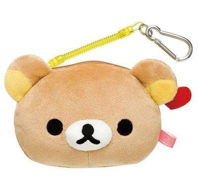 可愛 Rilakkuma 拉拉熊 懶熊 伸縮拉繩 零錢包 / 識別證件套