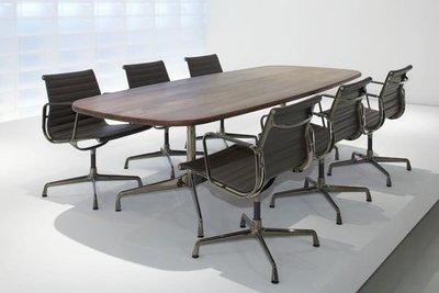 【台大復刻家具】Eames Segmented Office Table Oval 8人辦公/會議桌【非正版 Herman Miller Vitra】