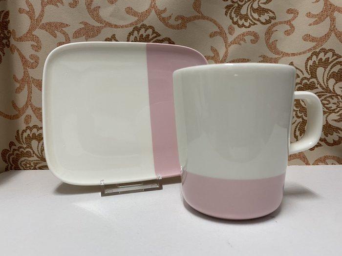 私人收藏絕版花色:芬蘭Marimekko OIVA絕版花色 馬克杯+長方碟