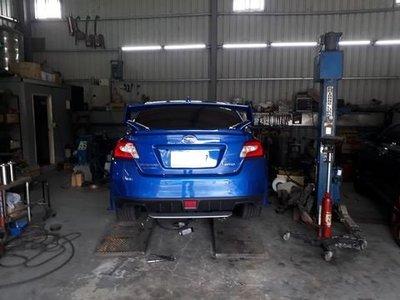 [排氣管工匠] Subaru WRX 2.0  排氣管 內部結構改良 (全台獨家專利研究)