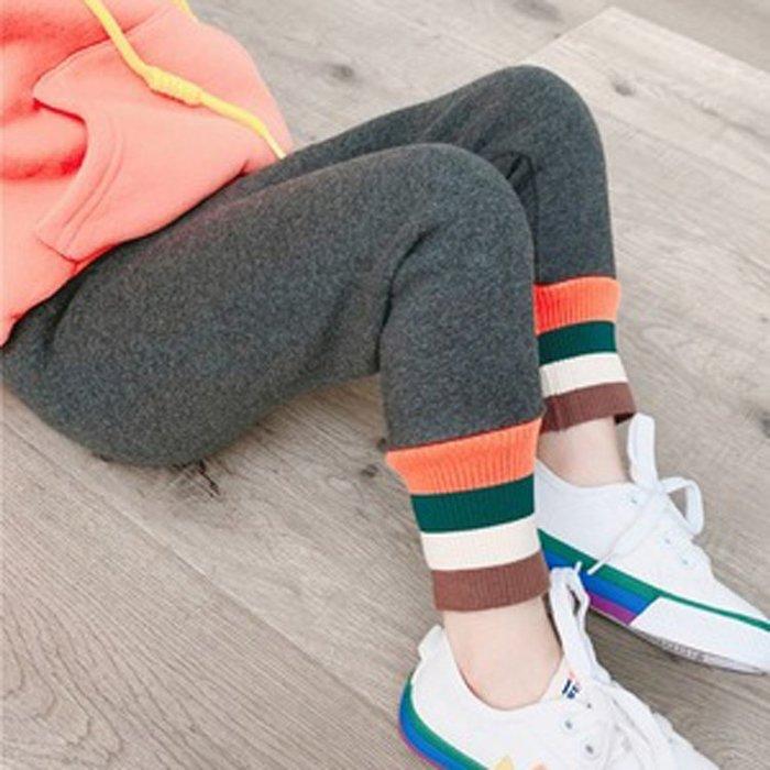2020秋季新款童裝 中小童舒適修身打底褲 兒童拼接褲寶寶加絨長褲(RT#201007)