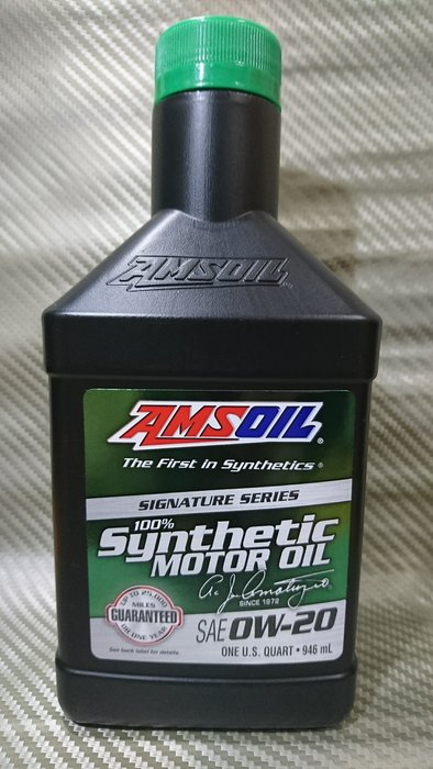 (C+西加小站)安索 AMSOIL經典版 ASM 0W-20 0W20全合成機油,購買滿12瓶/箱免運費