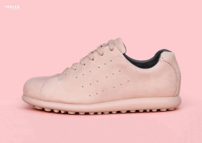 INDiCE ↗ CAMPER Pelotas XL K200747 003 經典輕量皮革休閒女鞋 仿舊裸粉色