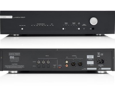 英國Musical Fidelity/音樂傳真 M6S DAC解碼器支持DSD解碼