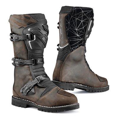 瀧澤部品 義大利 TCX DRIFTER WATERPROOF復古棕  防水車靴 越野靴 7160W 滑胎 高筒靴 通勤