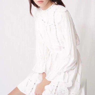 法國米白色洋裝 maje 同款