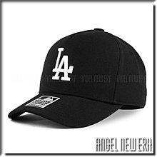 【ANGEL NEW ERA 】MLB Old Fashioned Cap LA  洛杉磯 道奇 黑 卡車帽 五片