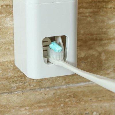 ❃彩虹小舖❃懶人全自動擠牙膏器 創意 吸盤壁掛式 牙膏收納 擠壓器 黏貼式 洗漱 衛浴 手動【Q309】