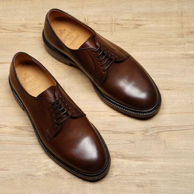 西班牙手工鞋 Berwick1707 Plain Toe Derby 素面德比鞋