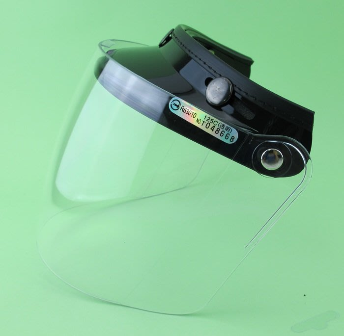 【阿LIN】125AAB 鏡片 透明 三顆扣鏡片 眼睛防護具 C款