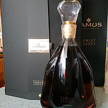 [醇珍] Camus Family Legacy Cognac 750mL 金花 家族傳奇 干邑 白蘭地 750毫升